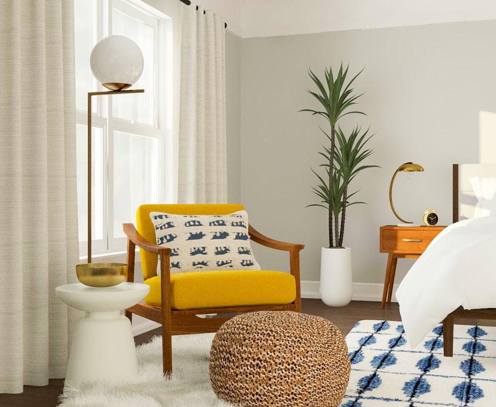 komfortos hálószoba