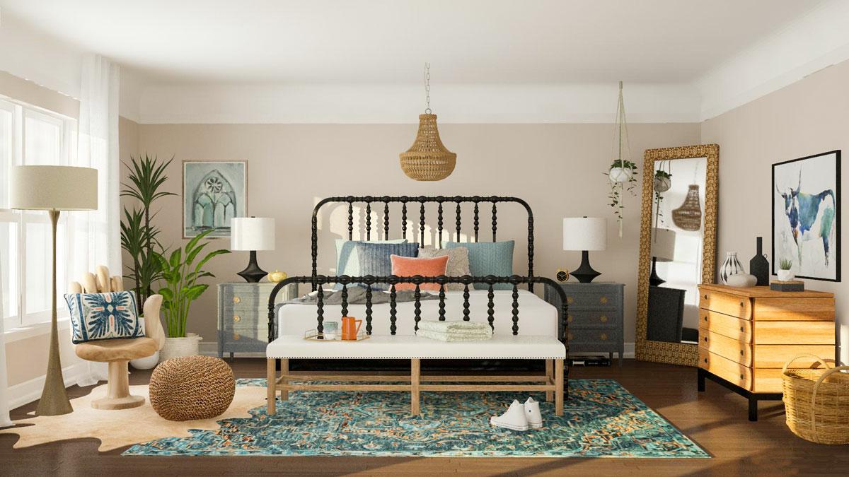 kényelmes hálószoba