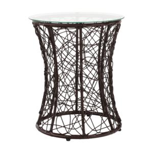 TEMP-Salmar NEW kisasztal, barna