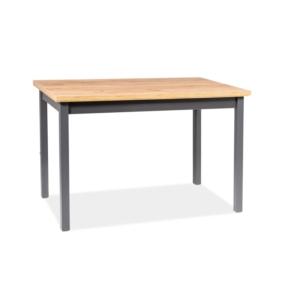 BAL-Adam asztal lencelot tölgy / antracit 120*68