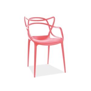 Toby étkező szék piros