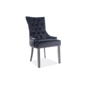 Edward Velvet étkező szék fekete láb/ fekete Bluvel19