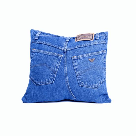 OLD- Jeans díszpárna