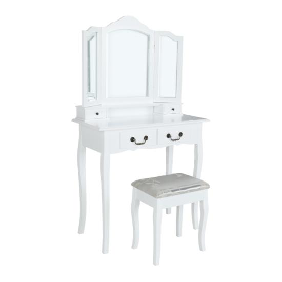 TEMP-Renda fésülködőasztal és ülőke