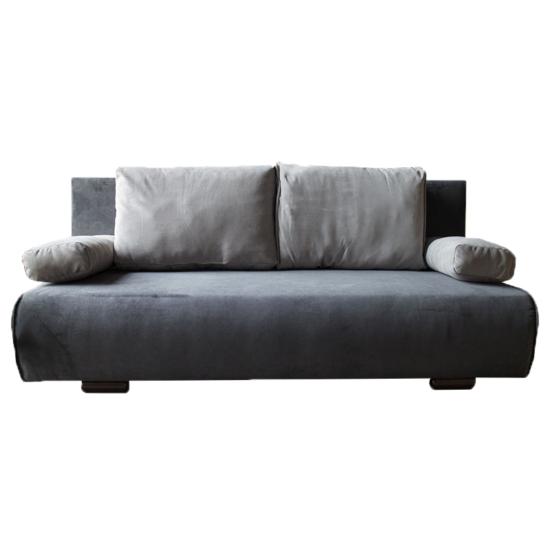 Lahoras kanapé - sötétszürke/szürke