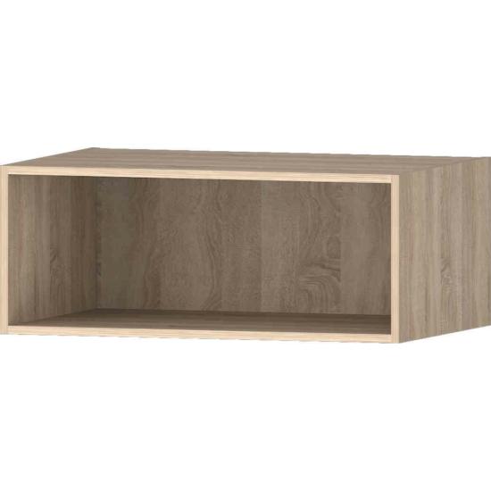 Idill K12 nyitott polcos szekrény világos sonoma