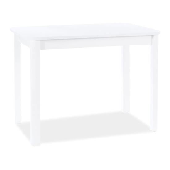 BAL-Diego II étkező asztal 105(140)x65 matt fehér