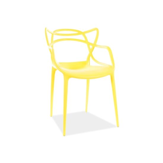 Toby étkező szék arany