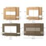 Kép 8/8 - DEL-Idill ID-7 tolóajtós gardrób összeállítások