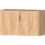 Kép 3/6 - Idill K9 polcos szekrény gold craft tölgy