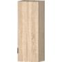 Kép 1/6 - Idill P5 fix polcozású ajtós építhető elem világos sonoma