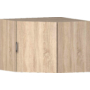 Kép 1/6 - Idill S9 alacsony polcos sarokelem világos sonoma