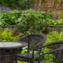 Kép 5/12 - TEMP-Geton kerti szett, 1+4, barna